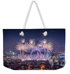 Happy New Year 2018 Weekender Tote Bag