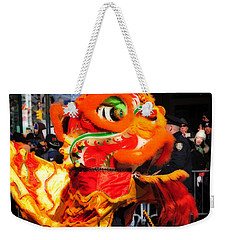 Weekender Tote Bag featuring the photograph Happy New Year by Mike Martin
