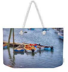 Harborside Weekender Tote Bag by Tricia Marchlik