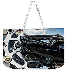 Weekender Tote Bag featuring the photograph Harley Davidson 15 by Wendy Wilton