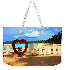 Has To Be Done Weekender Tote Bag