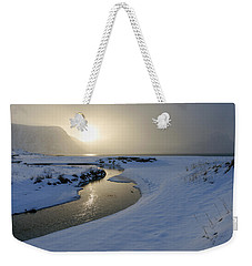 Haukland Beach, Lofoten Weekender Tote Bag