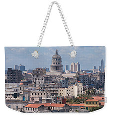 Havana Skyline Weekender Tote Bag by David Warrington