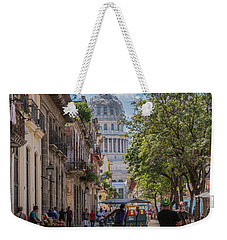 Havana Street Weekender Tote Bag by David Warrington
