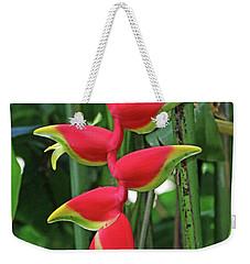 Hawaii Flora Weekender Tote Bag