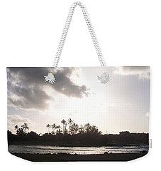 Hawaiian Morning Weekender Tote Bag