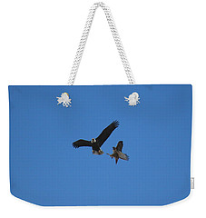 Hawk Vs Eagle Weekender Tote Bag