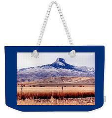 Heart Mountain - Cody,  Wyoming Weekender Tote Bag