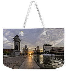 Heart Of The City Weekender Tote Bag by Everet Regal