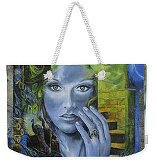 Heavenly Garden Weekender Tote Bag