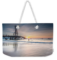 Weekender Tote Bag featuring the photograph heche en Mexico by Edward Kreis