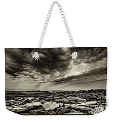 Here Comes The Storm 06 Weekender Tote Bag by Arik Baltinester
