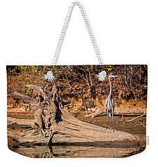 Heron Perch Weekender Tote Bag