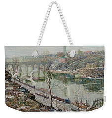High Bridge, Harlem River Weekender Tote Bag