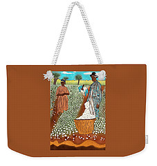 High Cotton Weekender Tote Bag