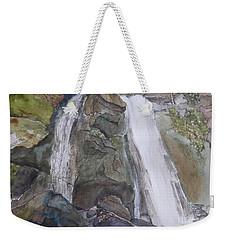 High Shoals Falls Weekender Tote Bag by Joel Deutsch