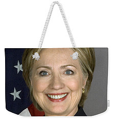 Hillary Clinton Weekender Tote Bag by War Is Hell Store