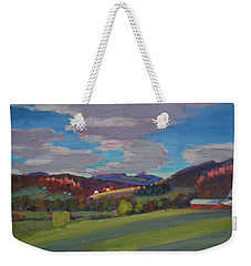 Hills Of Upstate New York Weekender Tote Bag