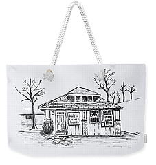 Hole In The Wall Books Weekender Tote Bag