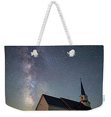 Weekender Tote Bag featuring the photograph Holy  by Aaron J Groen
