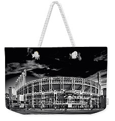 Home Of The Cleveland Indians Weekender Tote Bag