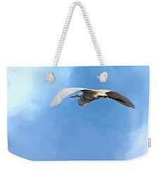 Homeward Bound Weekender Tote Bag by Cyndy Doty