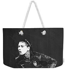 Hope Solo Weekender Tote Bag by Semih Yurdabak