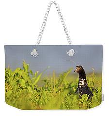 Horned Screamer Weekender Tote Bag