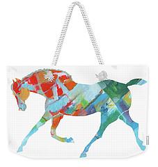 Horse Of Color Weekender Tote Bag