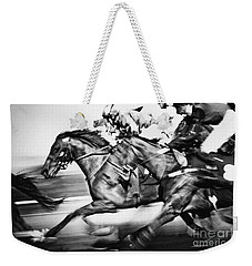 Horse Racing Weekender Tote Bag