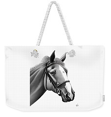 Horse Weekender Tote Bag by Rand Herron