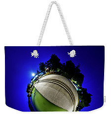 Hoyt Lake At Delaware Park - Tiny Planet Weekender Tote Bag