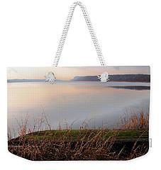 Hudson River Vista Weekender Tote Bag