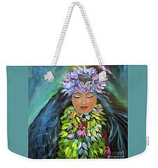 Hula Maiden Weekender Tote Bag