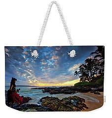 Hula Sunset Weekender Tote Bag