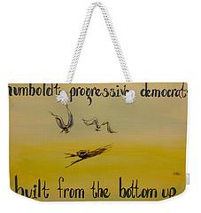 Humboldt Progressive Democrats Weekender Tote Bag