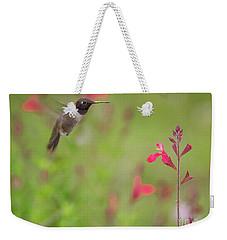 Hummingbird And Sage Weekender Tote Bag
