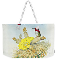 Hummingbirds Weekender Tote Bag by John Gould