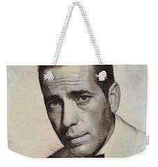 Humphrey Bogart Vintage Hollywood Actor Weekender Tote Bag