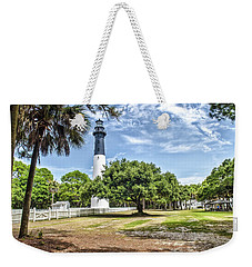 Hunting Island Lighthouse Weekender Tote Bag by Scott Hansen