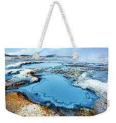 Hverir Steam Vents In Iceland Weekender Tote Bag