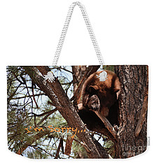 Weekender Tote Bag featuring the photograph I Am Sorry by Debby Pueschel