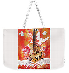 I Can Hear The Sound Weekender Tote Bag