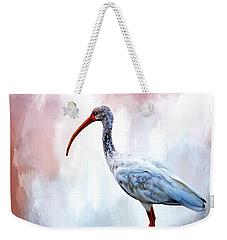 Ibis Weekender Tote Bag by Cyndy Doty