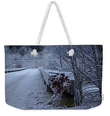 Ice Bridge Weekender Tote Bag