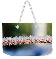 Ice Crystals Weekender Tote Bag by Tiffany Erdman