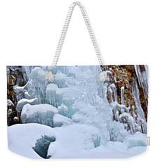 Ice Mosaic Weekender Tote Bag