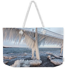 Iced Over Weekender Tote Bag
