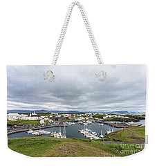 Iceland Fisherman Harbor Weekender Tote Bag