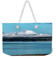 Icing On The Mountain Weekender Tote Bag